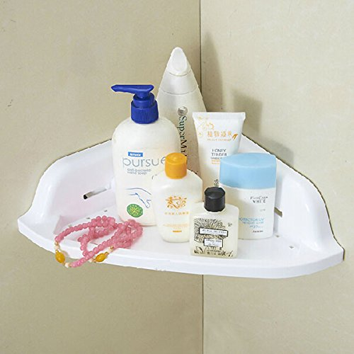 Suction Cup Corner Shelf Bathroom Organizer Rack Cream Holder