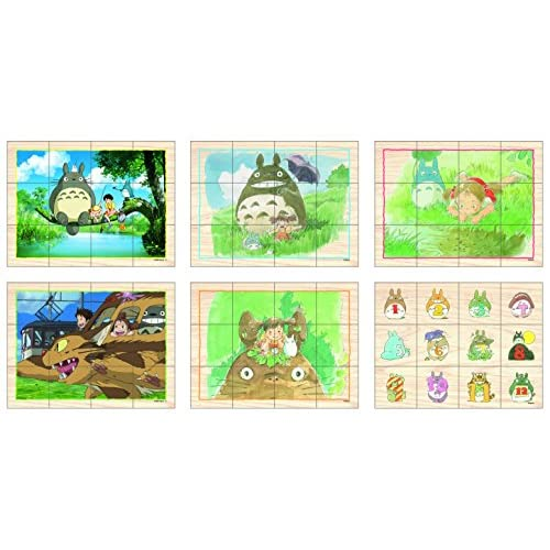12 Piece My Neighbor Totoro Tree of Picture Puzzle