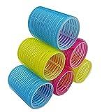 Majik Hair Velcro Roller (Set Of 6) Medium Size For Women And Girls