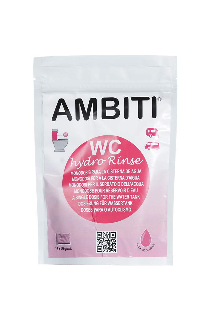Ambiti Am300345 Ambiti Hydro Rinse Water Soluble Toilet Cistern 15 Cans X 20 G Piece Business Industry Science