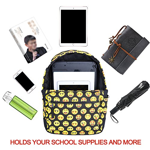COOFIT School Backpack for Girls Canvas Backpack Laptop Backpacks for Teens by COOFIT (Image #3)
