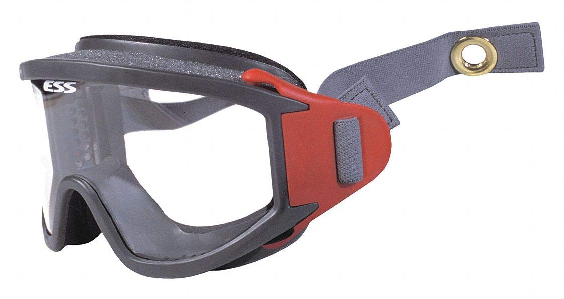 Helmet Goggle, One Size, Black/Red, PR