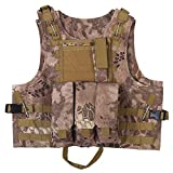 Tactical Vest for Hunting Camping Hiking Fishing CS Games Airsoft Outdoor Activities