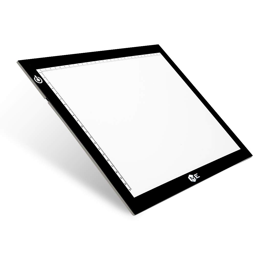 Dimmable A4 LED Tracer Light Box Slim Light Pad, ME456 USB Power Drawing Copy Board Tattoo Tracing LED Light Table for Artists Designing, Animation, Sketching, Stenciling (Black)