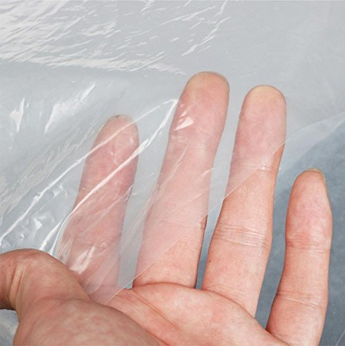 Sunview Greenhouse Clear Plastic Film Polyethylene Cover 4 Year 6 Mil 12ft X 25ft by Sunview (Image #1)