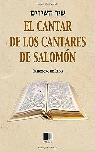 Cantar de los cantares de Salomón (Spanish Edition)