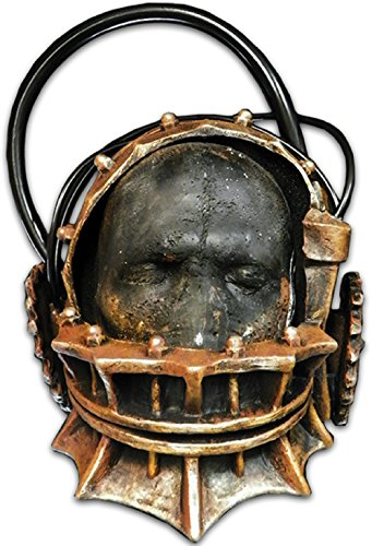 [SAW Reverse Bear Trap Mask] (Saw Movie Costumes)