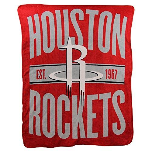 (The Northwest Company NBA Houston Rockets Micro Raschel Throw, One Size, Multicolor)