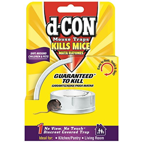 d-CON No View, No Touch Covered Mouse Trap, 1 Trap (D Con No View No Touch Reviews)
