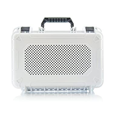 AudioActiv Vault XL Waterproof, Shockproof Hard Cover Travel Case for Bose SoundLink 3 (White)