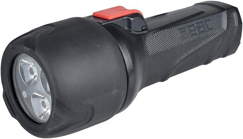 SEAC Unisexs Q5 Scuba Diving Torch Light Black 3 LED,700 LuMens Powerful standard Lightweight Body Plastic Technopolymer