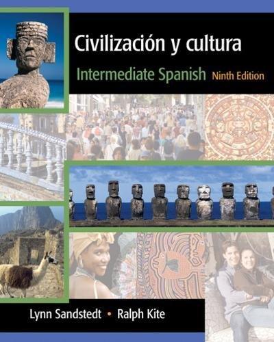 Civilizacion y cultura: Intermediate Spanish: Amazon.es: Copeland, John, Sandstedt, Lynn, Kite, Ralph: Libros en idiomas extranjeros