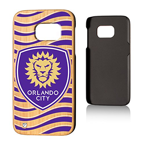 Keyscaper Orlando City Soccer Club Wave Bamboo Samsung S7 Case MLS by Keyscaper