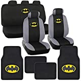 Batman Car Seat Cover Set with Floor Mats