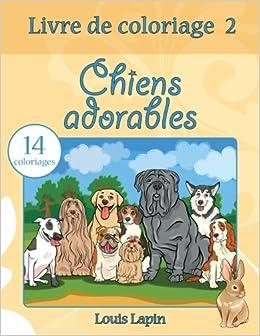Coloriage Chien Lhassa Apso.Livre De Coloriage Chiens Adorables 14 Coloriages Volume 2
