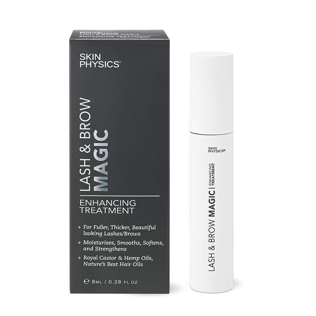 LASH & BROW Magic Enhancing Tratamiento Serum. Tu solución natural para pestañas ultra sexy y hermosas cejas atrevidas sin el uso de máscara, falsas, ...