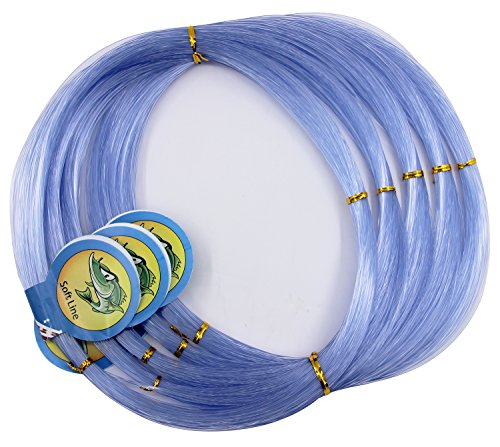 JSHANMEI Monofilament Fishing Line 500M, Clear Premium Mono Nylon Fishing Leader Line, Superior Strong and Abrasion Resistance for Freshwater Saltwater Fishing