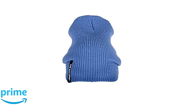 Sombrero The Bulldog lana Talla /única Flow Beanie Azul Gorro bulcap014