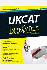 UKCAT For Dummies Kindle Edition