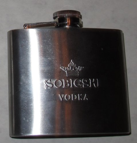 Sobieski Vodka Flask by ()