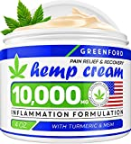 Best Joint Pain Reliefs - Pain Relief Hemp Cream 10,000mg | 4oz Review