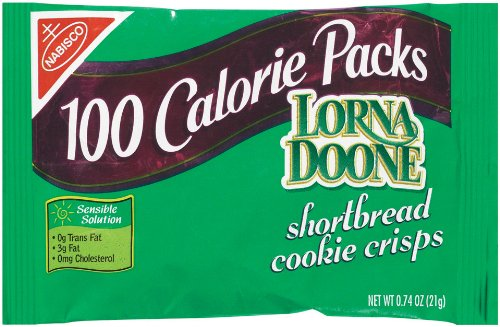 100 Calorie Packs Lorna Doone Shortbread Cookie Crisps, 0.74-Ounce Packs (Pack of 72) by Nabisco