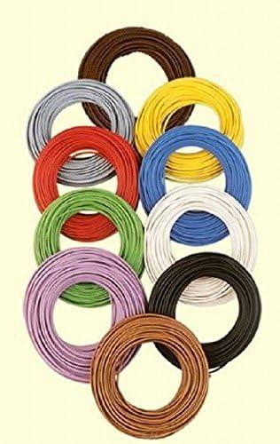Brawa 3106 Litze 0 14mm 10m Ring Dunkelbraun Spielzeug