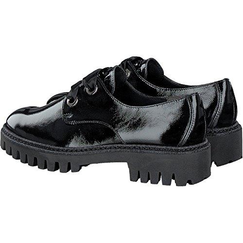 classique Green Chaussures Noir femme à Paul 2316 et coupe lacets 001 ZF8nw