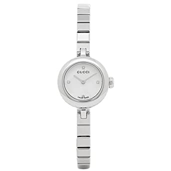 e0688d46e9b8 Amazon | [グッチ] 腕時計 GUCCI レディース YA141503 シルバー [並行 ...