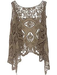 Open Stitch Cardigan Boho Hippie Butterfly Crochet Vest