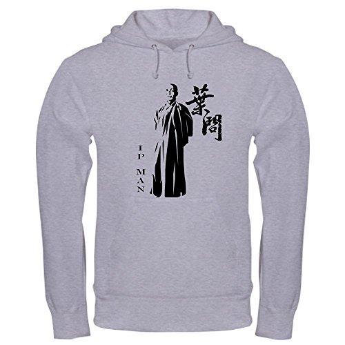 CafePress Great Grand Master - Ip Man (Wing Chun) Hoodie - Pullover Hoodie, Classic & Comfortable Hooded Sweatshirt Wing Chun Mens Hoodie
