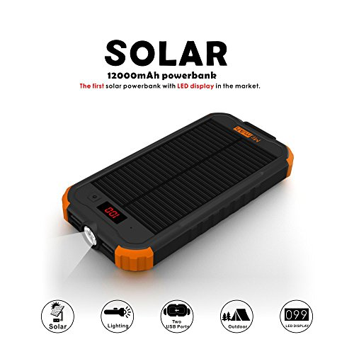 Best Portable Solar Charger For Camping - 2