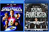Comic Parodies Mel Brooks Collection: Spaceballs & Young Frankenstein Comedy Movie Blu Ray bundle
