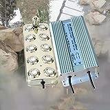 cjc 10 Head Ultrasonic Mist Maker Fogger Humidifier with Transformer 6KG/H 110V