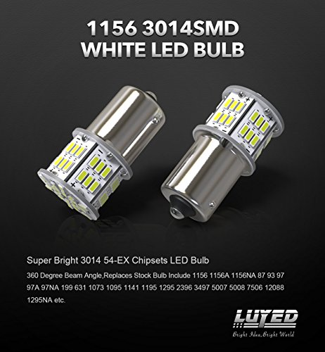 New-generation-12-24v-Super-Bright-Low-Power-5-x-650-Lumens-1156-1141-1003-3014-54smd-Led-Light-bulb-Use-for-Back-Up-Reverse-LightsBrake-LightsTail-LightsRv-lights-White