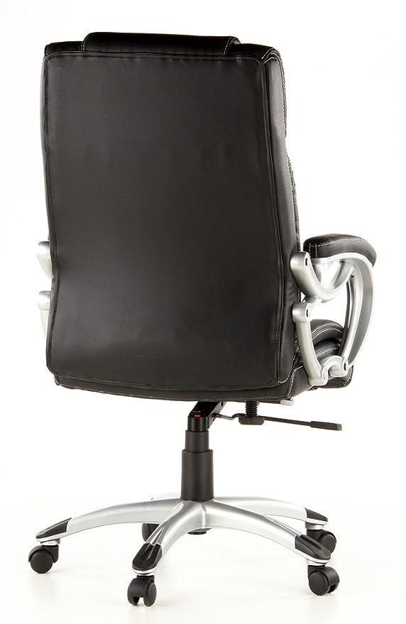 HJH Office TRITON 400 Silla de oficina Negro 80 x 36 x 66 cm
