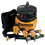 Factory-Reconditioned Stanley Bostitch U/CPACK300 3-Tool and Compressor Combo Kit