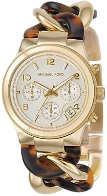 Michael Kors Chronograph Runway Twist Gold