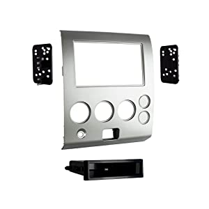 Metra 99-7629S 2004-07 Nissan Models with Navigation Single/Double-DIN Radios (Silver)