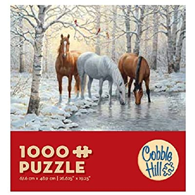 Cobblehill 57157 MO 1000 Horse Trio Puzzle, Various: Toys & Games