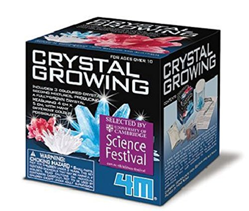 Toysmith 4M Crystal Growing Chemistry Experiment Kit - Multi-Color
