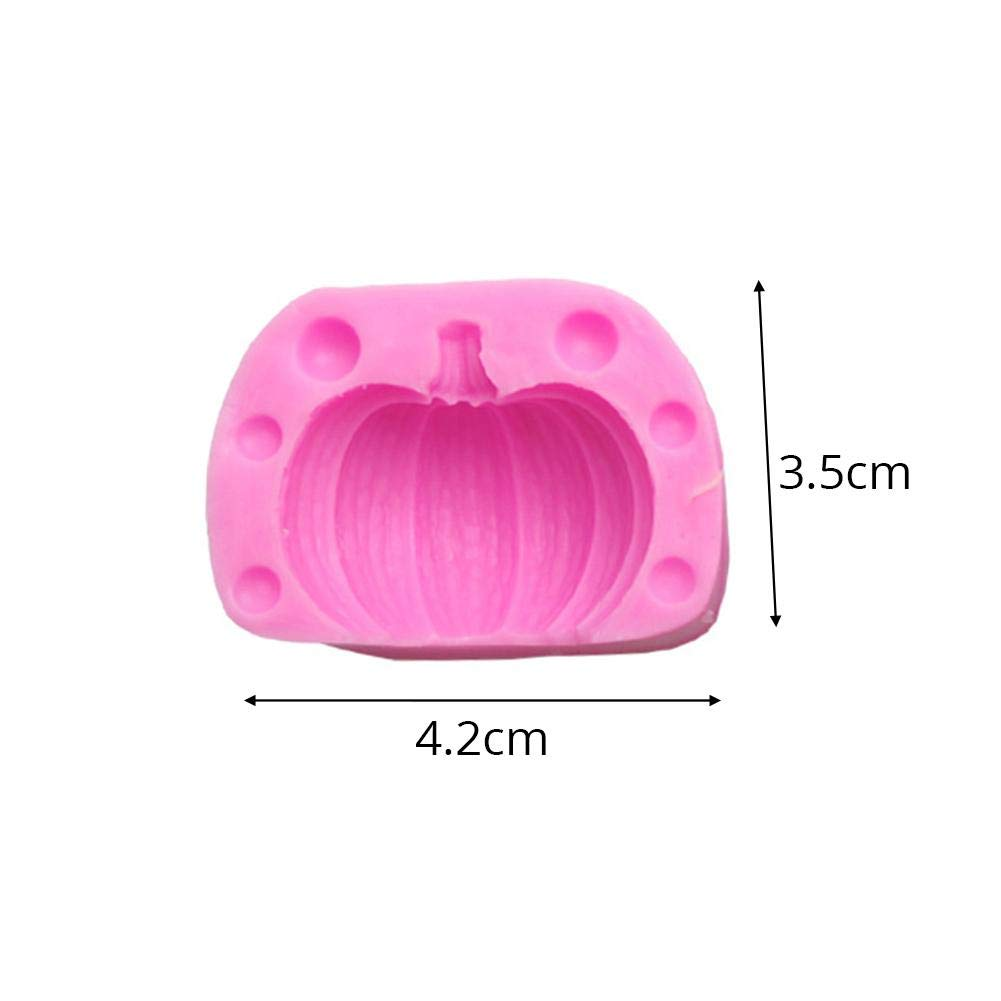Tonform Schokoladenkuchen Dekorieren Form Backen DIY Tools Navigatee Silikonform 3D K/ürbis Silikonform Kerzenform