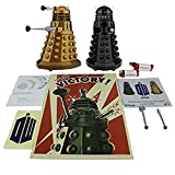 Doctor Who Assault Dalek + Dalek Sec Bluetooth Speaker Combo Pack with MIC, LEDs and Sound Effects