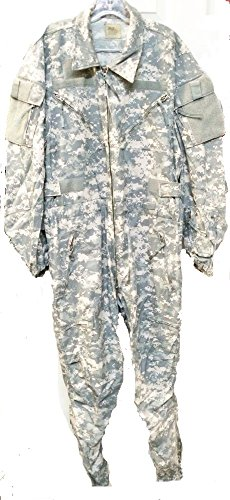 Military Combat Coveralls (US Army ACU Pattern Coveralls,Combat Vehicle CREWMEN'S Medium Regular)