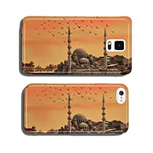 Istanbul Dome Sunset seagull skyline cell phone cover case iPhone6