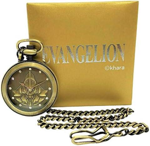 EVANGELION エヴァンゲリオン 初号機の懐中時計 生産 500個のみ 検 エヴァ eva 初号機 懐中時計