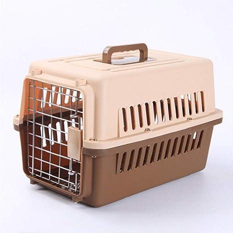 WJDM Caja de Transporte de avión de Cachorro Perro Gato ...