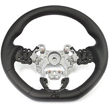 CORKSPORT 2014-2016 Mazda 3, 2013-2016 CX5, 2016 + CX3 - Performance Leather Steering Wheel - Black (AXM-9-342-10)
