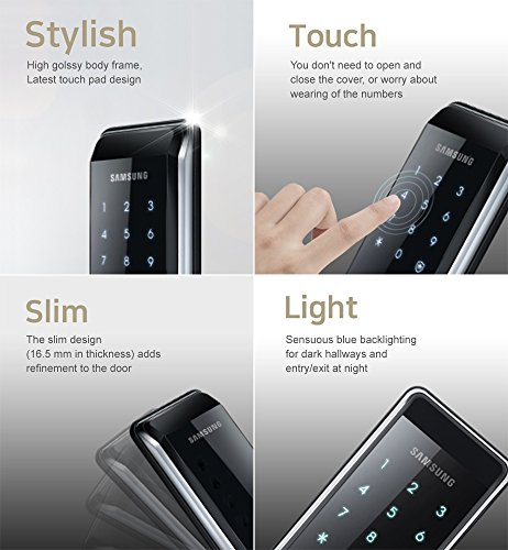 Samsung Shs 2920 Ex Smart Door Lock 6 Rf Keytags