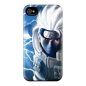 Durable Hard Cell-phone Cases For Iphone 6plus With Allow Personal Design Colorful Naruto Shippuden Kakashi Series JoanneOickle